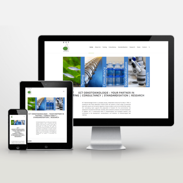 Website-Entwicklung für ECT - inspiras webagentur