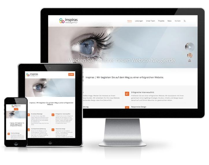 Responsive Design - inspiras webagentur