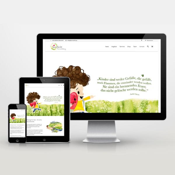 Online-Shop-Implementierung SinnSicht Verlag