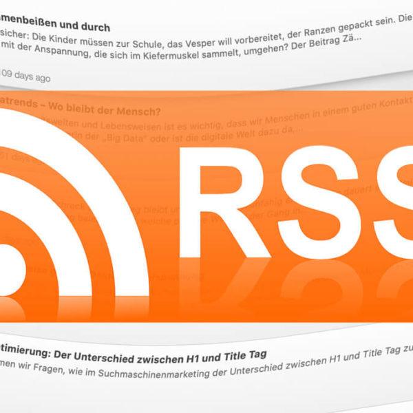 Bilder bei RSS-Feeds hinzufügen