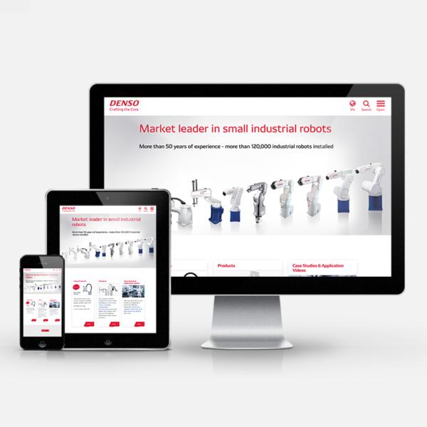 Online-Marketing für Denso Robotics Europe   inspiras webagentur