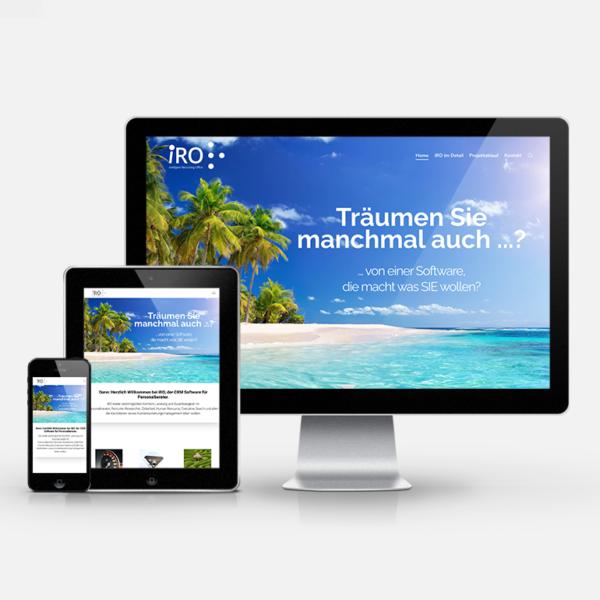 Website Relaunch iRO   inspiras webagentur
