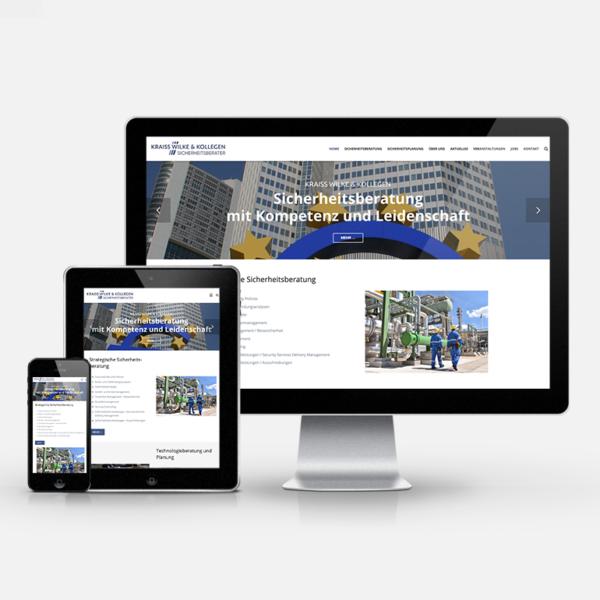 Website Relaunch Kraiss Wilke & Kollegen   inspiras webagentur