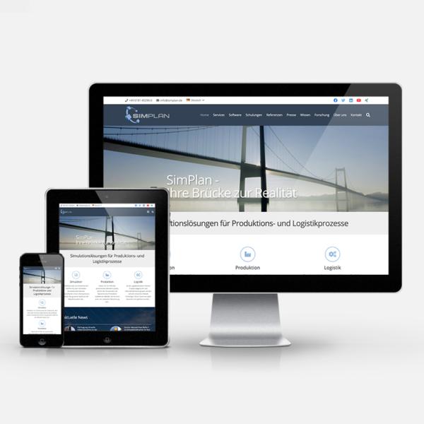 Website Relaunch für die SimPlan AG   inspiras webagentur